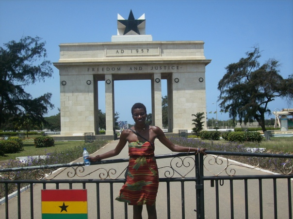 Freedom and Justice Independence Monument in Accra