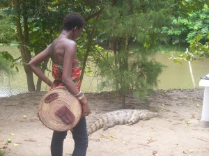 The Crocodile Sanctuary, Ghana - Aug. 23